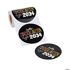 Class of 2034 Stickers