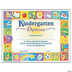 Classic Kindergarten Diploma - 30 per pack, 6 packs
