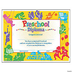 Classic Preschool Diploma - 30 per pack, 6 packs