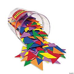 Classpack Tangrams, 4 Colors, 30/pkg