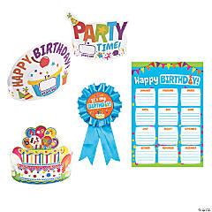 Classroom Birthday Celebration Kit for 24