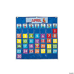 Classroom Calendar Pocket Chart