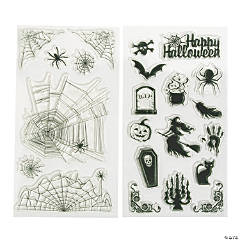 Clear Halloween Stamps