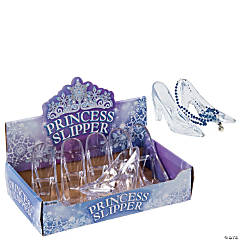 Clear Plastic Princess Shoes