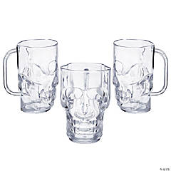 Clear Skull Mugs