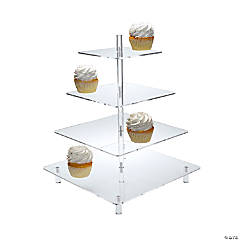 Clear Tiered Treat Stand