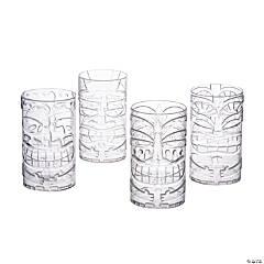 Clear Tiki Plastic Cups