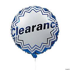 """Clearance""Mylar Balloons"
