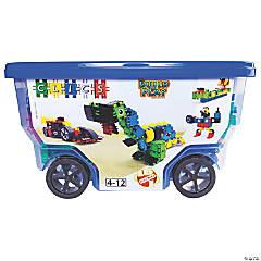 Clics Toys CLICS, 400-Piece Roller Bucket