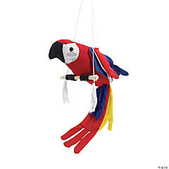 Cloth Colorful Parrot
