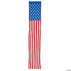 Cloth Traditional Patriotic Pillar Bunting