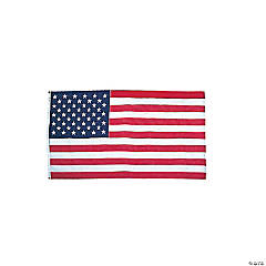 Cloth United States Flag
