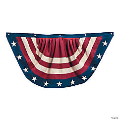 Cloth Vintage Americana Bunting