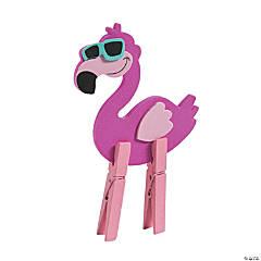 Clothespin Flamingo Craft Kit