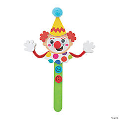 Clown Craft Stick Craft Kit