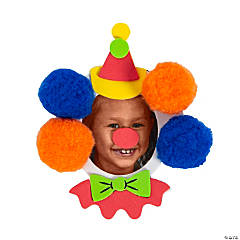Clown Face Picture Frame Magnet Craft Kit