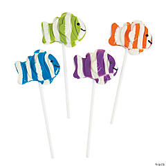 Clown Fish Lollipops
