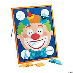 Clown Mouth Bean Bag Toss Game