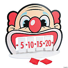 Clown Tooth Bean Bag Game