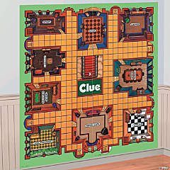 Clue® Game Board Backdrop Banner