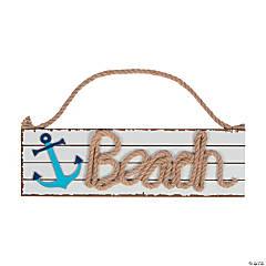 Coastal Beach Sign