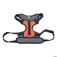 Coastal Reflective Control Handle Harness-Red Extra Large