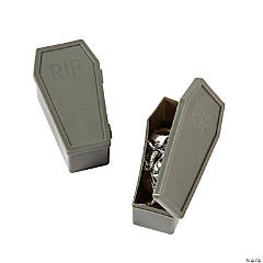Coffin-Shaped Favor Containers