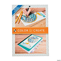 Color & Create: World Traveler Adult Coloring Stack