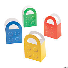 Color Brick Favor Bags - 12 Pc.