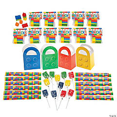 Color Brick Party Favor Kits for 12