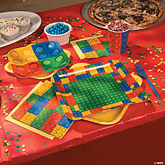 Color Brick Party Supplies