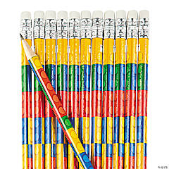 Color Brick Pencils - 24 Pc.