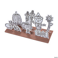 Color Your Own 3D Fall Garden Kits