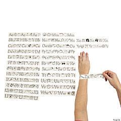 Color Your Own Alphabet Slap Bracelets