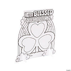 Color Your Own Blessings Shamrocks