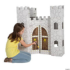 Color Your Own Castle Playhouse