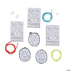 Color Your Own Christmas Necklace Giveaway Boxes