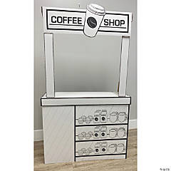 Color Your Own Coffee Shop Playhouse
