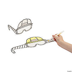 Color Your Own Construction VBS Hard Hats with Shutter Glasses