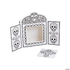 Color Your Own Day of the Dead Shrines