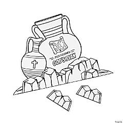 Color Your Own Dig VBS 3D Scenes