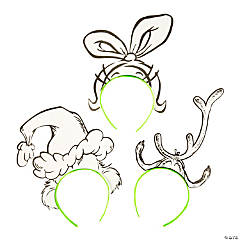 Color Your Own Dr. Seuss™ The Grinch Headbands