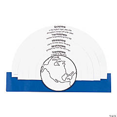 Color Your Own Earth's Atmosphere Kits