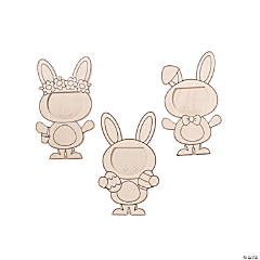 Color Your Own Easter Bunny Picture Frames