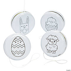 Color Your Own Easter YoYos