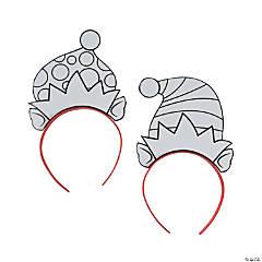 Color Your Own Elf Headbands