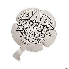 Color Your Own Father's Day Whoopie Cushions