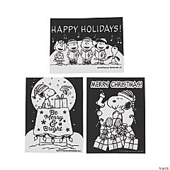 Color Your Own Fuzzy Peanuts® Christmas Posters