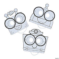 Color Your Own Geared Up for God VBS Robot Masks