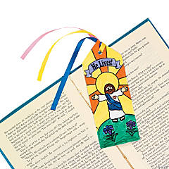 "Color Your Own! ""He Lives!"" Bookmarks"